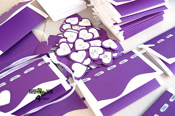Custom Wedding Invitations-Personalized with by PaperMark4You