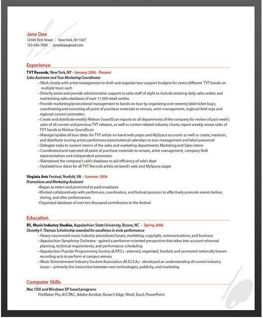 Best Web Resumes Images On   Design Resume Resume