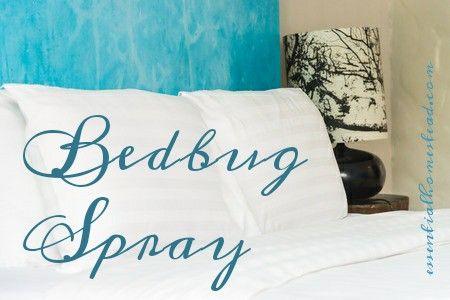 bedbug spray recipe http://essentialhomestead.com/bedbug-spray/ #greenclean #bedbugs