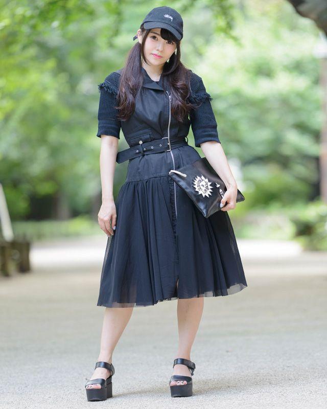 園崎ありささんの2016年9月のファッションスナップ・コーディネート