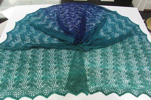 Ravelry: Briny Deep Shawl pattern by Denise Bartels