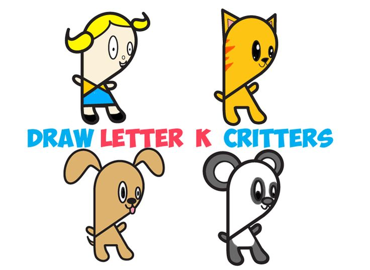 today i will show you how to draw a bunch of cute cartoon characters using the - Cartoon Picture For Kids