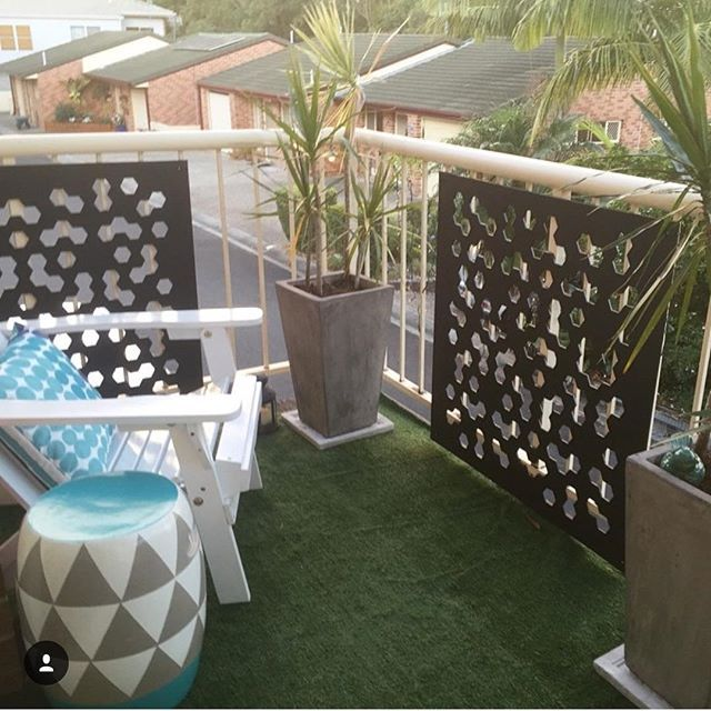@mellymoocow has decked out her own private oasis with @Kmart goodness including the new garden screens, pots, pavers, chair and cushion. Thanks for the tag lovely, enjoy creeping on your neighbors from your new lookout #kmart #kmartnz #kmartaus #kmartstyling