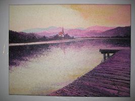 #lake #landscape #nature #sunset Contact: RomCGallery@gmail.com