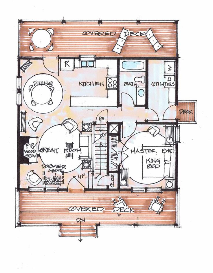 732 best images about floor plans on pinterest for Fish camp house plans