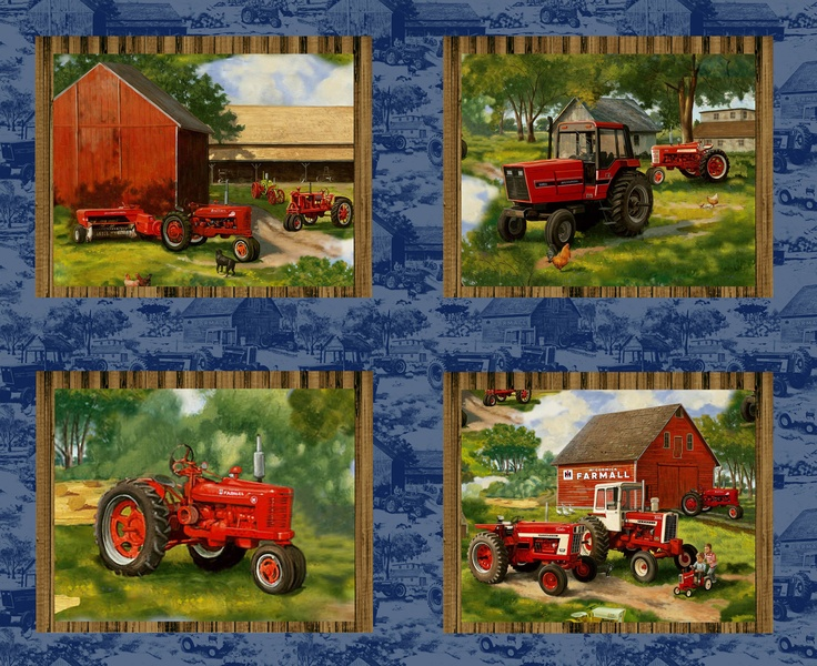 40 Best Images About Tractor Fabric On Pinterest