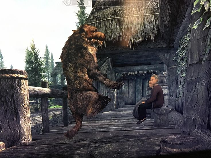 Stump's new trick #games #Skyrim #elderscrolls #BE3 #gaming #videogames #Concours #NGC