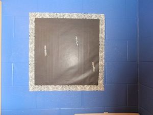Classroom DIY: DIY Cork Bulletin Board