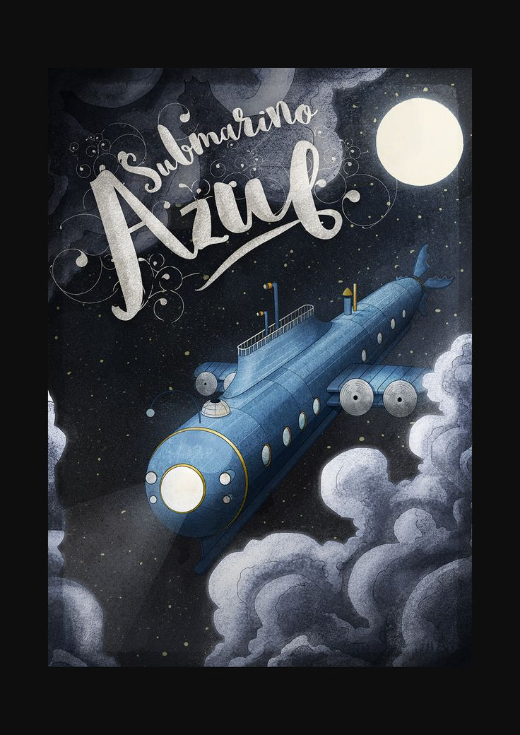 Submarino Azul on Behance