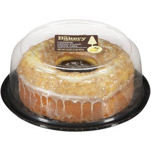 Walmart Sugar Free Sliced Lemon Creme Cake