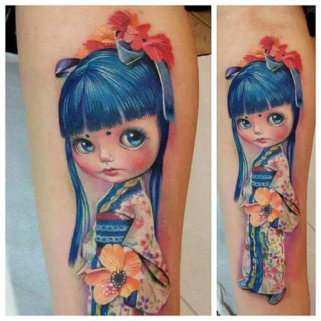 M s de 25 ideas incre bles sobre tatuaje kokeshi en - Tattoos geishas japonesas ...