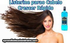 LISTERINE para FAZER o CABELO CRESCER RÁPIDO - Impressionante http://www.aprendizdecabeleireira.com/2016/03/listerine-para-fazer-o-cabelo-crescer.html