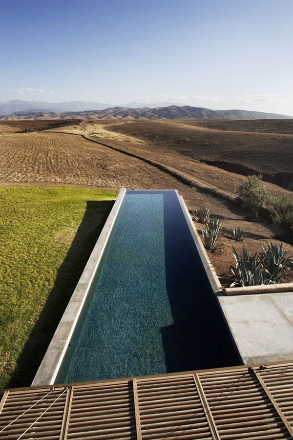 In the heart of the moroccan countryside, Villa K is designed by french architecture firm Studio Ko, Tagadert Berber Village, Martakech, Morocco