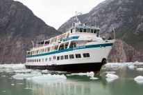 Alaska Small Ship Adventure Cruises -- Have a more intimate cruising experience on a small boat, with up-close glacier viewing and unplanned stops for wildlife viewing.