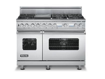 viking stove - double oven/6 burners
