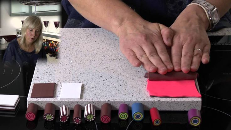 Polymer Clay Tutorial - How to Make Simple Canes
