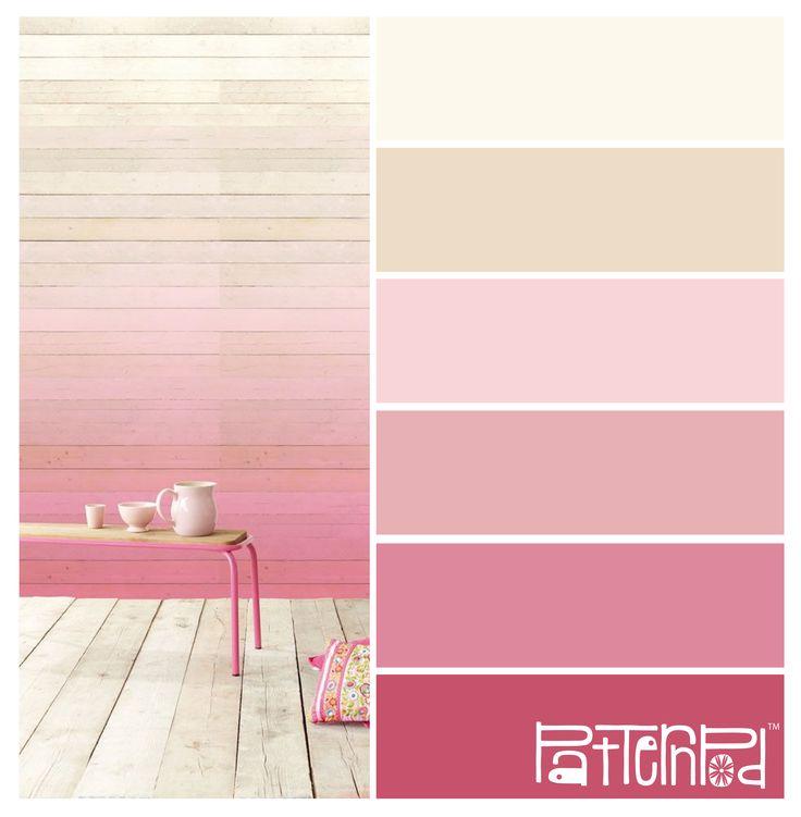 Powder Pink Ombre #patternpod #patternpodcolor #color