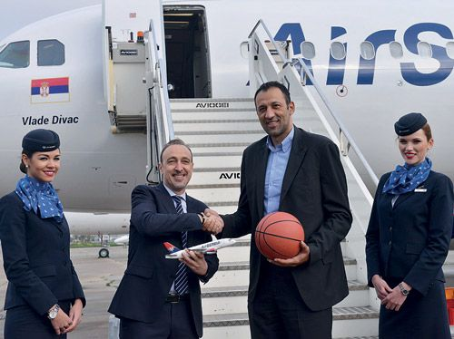 Air Serbia Pages http://www.airserbia.com/en/home/main_menu/travel_info/airserbia_review/maj_2014/air_serbia_pages_05_2014.html