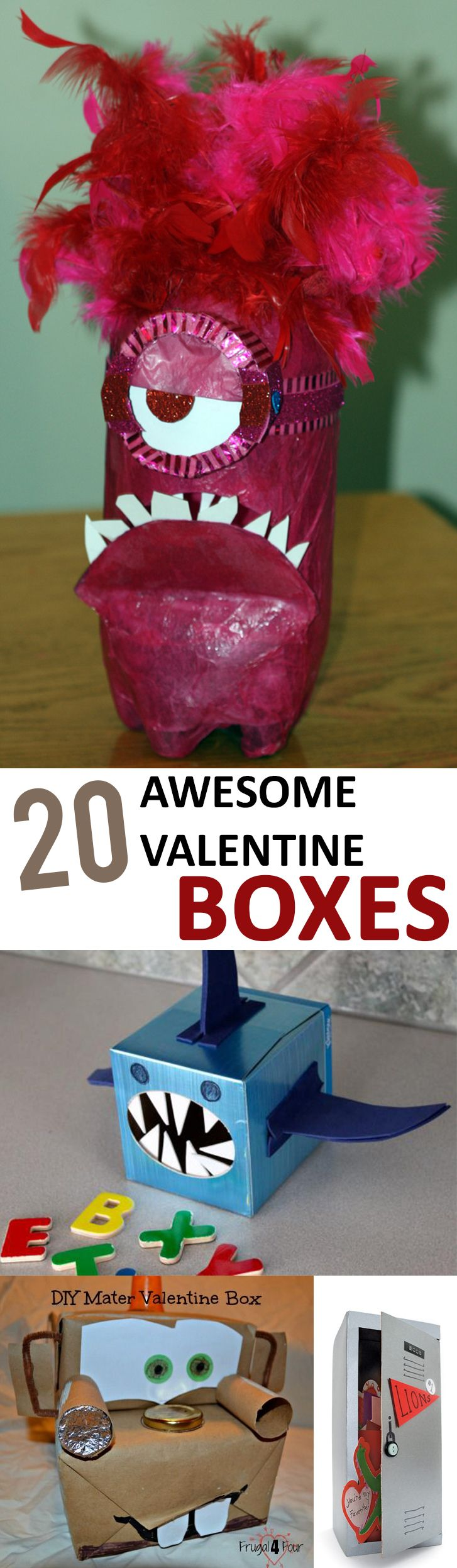 20 Awesome Valentine Boxes –