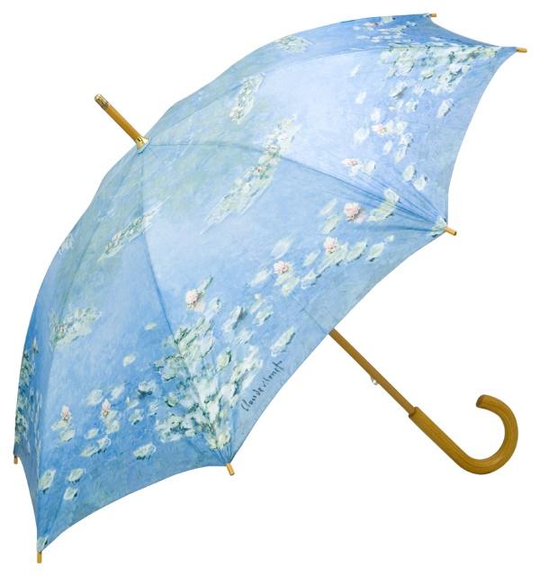 "Automatic umbrella Claude Monet: ""Waterlilies"" ❤ http://www.beimjupiter.com/Media/Shop/5676_az1.jpg"