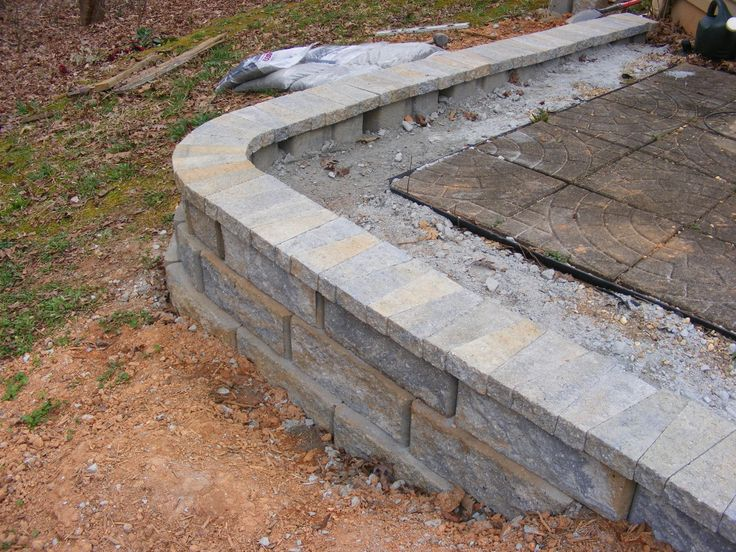 how to build a retaining wall garden bed