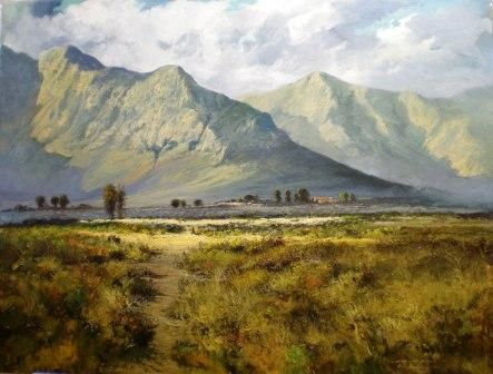 landscape paintings by south african artists - Google Search
