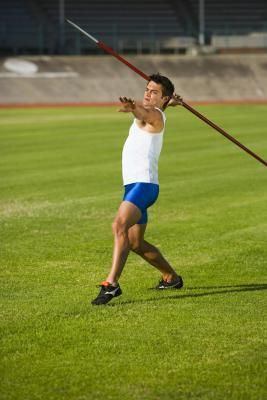 I still can't believe they have complete novices (including the coordination challenged) a javelin for a few weeks every year- preparing for the athletics carnival