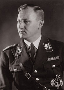 """Viktor Lutze (December 28, 1890–May 2, 1943) was the commander of the Sturmabteilung (""""SA"""") succeeding Ernst Röhm as Stabschef. He died from injuries received in an automobile accident. Lutze was given an elaborate state funeral in Berlin on May 7, 1943."""