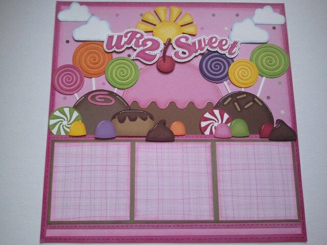 Up On Tippy Toes: Candy Crush / Sugar Rush Inspired - U R 2 Sweet