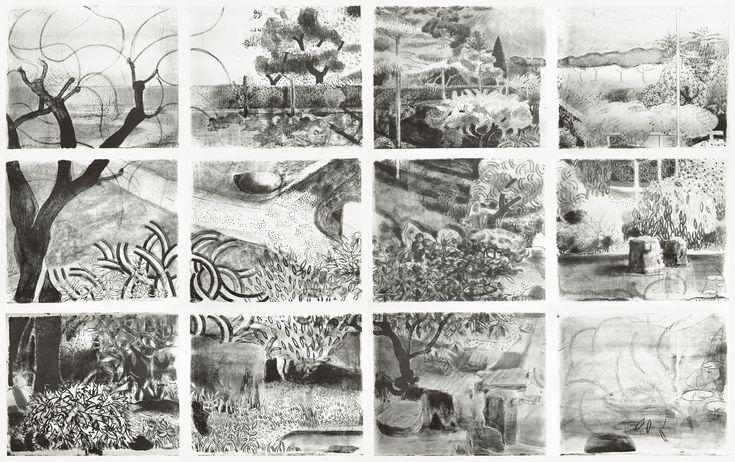 Маттиас Вайшер. Современное искусство. Современная живопись. Сад, 2007