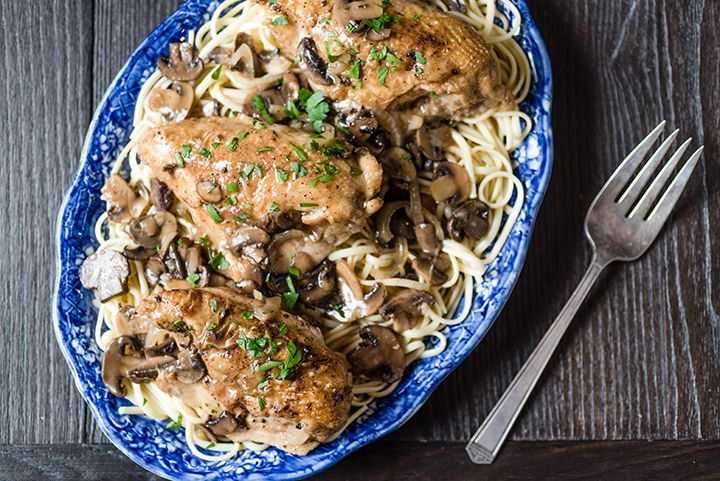 slow cooker chicken marsala and rice recipes dishmaps cooker chicken ...