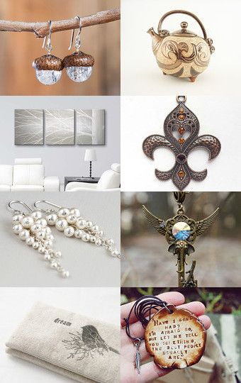 January beige gifts by Juliya Grin on Etsy--Pinned with TreasuryPin.com
