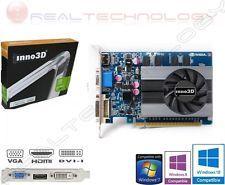 SCHEDA VIDEO 4 GB DDR3 GE FORCE GT730 INNO3D DVI/HDMI/VGA PCI EXPRESS 128 BIT