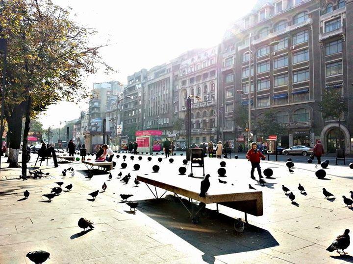 Romana Square, Bucharest, RO (by Alex Antonio Angheluta)