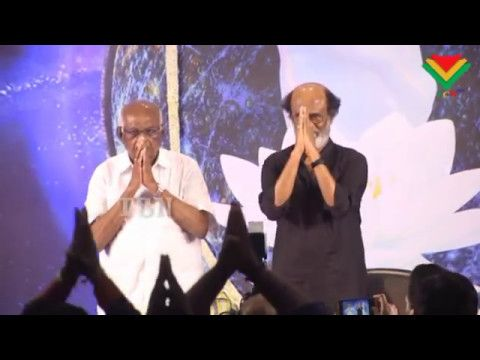 Actor Rajinikanth Meets Fans After 8 Years For a Photo Session