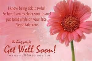 ... Messages And Get Well Soon Quotes - Messages, Greetings and Wishes