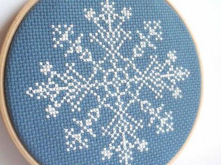 Les flocons de neiges : motifs de Noël par excellence