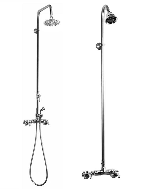 Stainless Steel Freestanding Outdoor Shower Shower Systems Shower Faucet