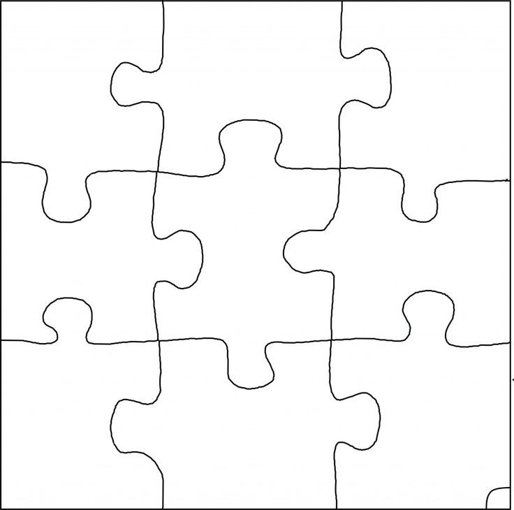 Pinterest the world s catalog of ideas for Large blank puzzle pieces template