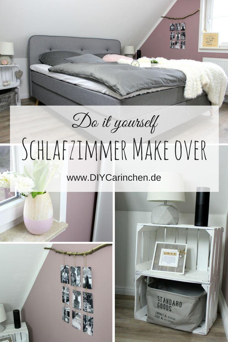 Schlafzimmer Make Over Vorher Nachher Diy Und