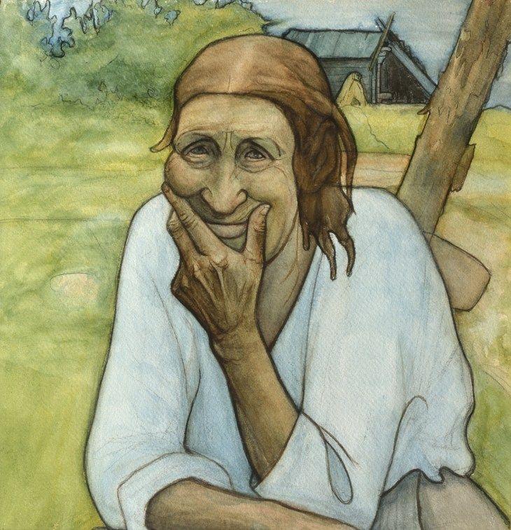 Hautaheikin mummo, Juho Rissanen (1873–1950)