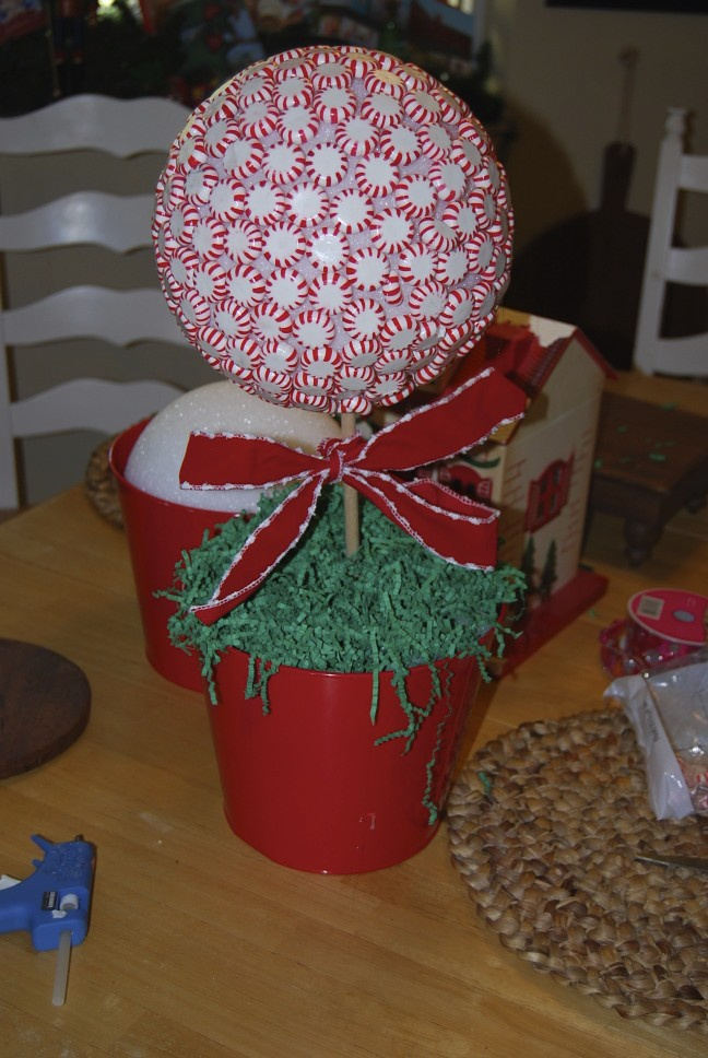 Craft Ideas For Christmas Picks And Ribbon
