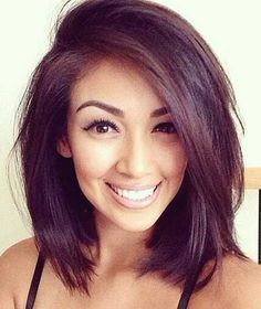 25+ Latest Long Bobs For Round Faces | Bob Hairstyles 2015 - Short Hairstyles for Women