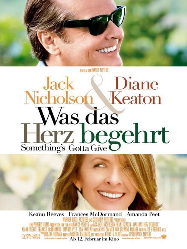 Was das Herz begehrt, Ein Film von Nancy Meyers mit Jack Nicholson, Diane Keaton. Übersicht und Filmkritik. Playboy Harry Sanborn (Jack Nicholson) ist ein alternder Musikproduzent. In seinem ganzen Leben hatte er noch keine einzige richtige Beziehung und war stets ein Frauenheld erster Güte. Harry geht eigentlich nur mit Frauen unter 30 aus, doch als er di...