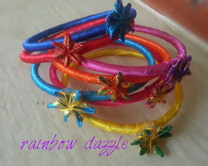 Blooming bangles