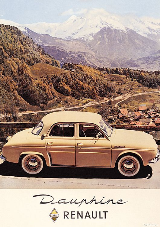 Renault Dauphine - Cool