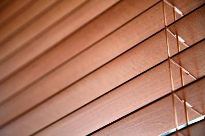How to cut blinds that are too wide.  This would be easier if I still had my table saw.