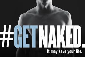 You can't deny the Melanoma Research Foundation's campaign gets your attention... Get Naked! And catch melanoma early! - It might save your life!  #GetNaked  #GetPostureFit  #SunHealth