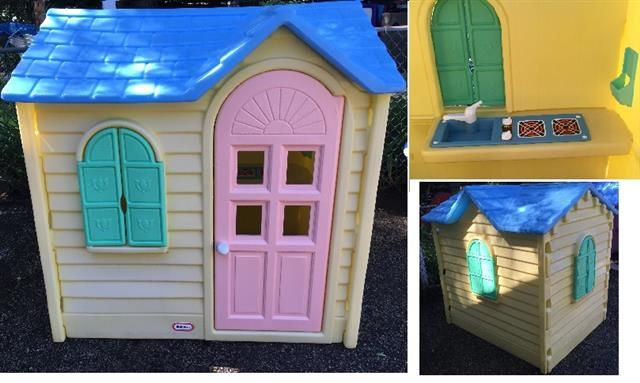 Little Tikes Country Cottage Playhouse Vintage Kids