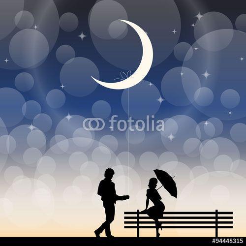 Vektor: romantic date